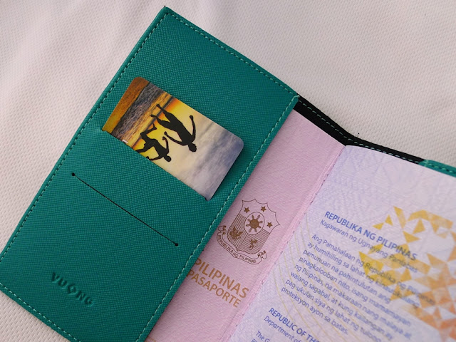 personalized passport holder by cha and mei | traveljams