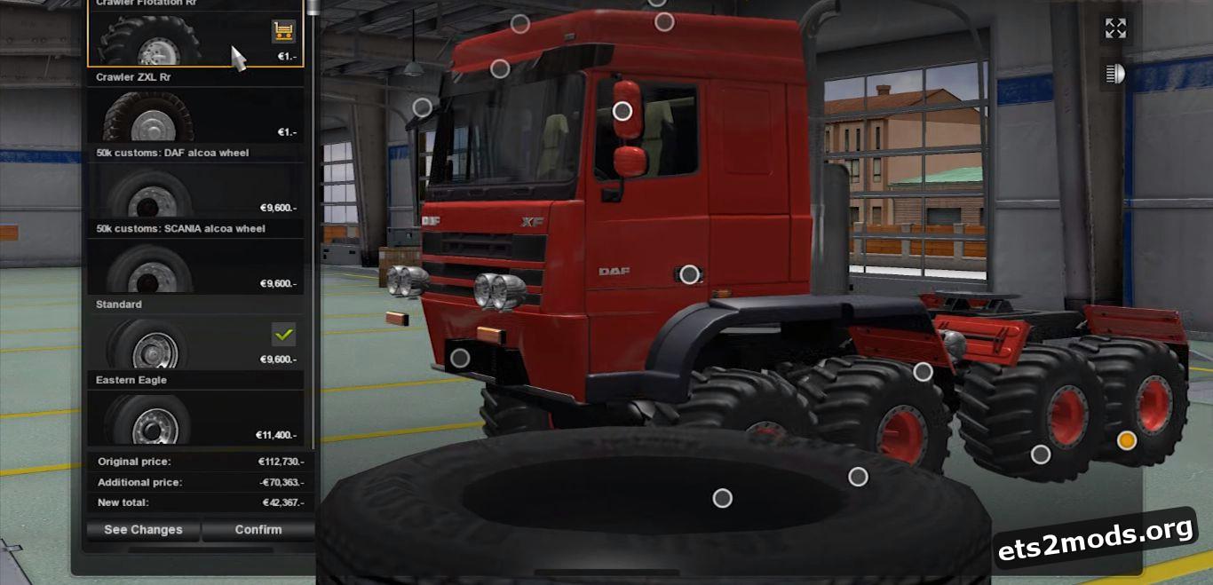 Truck - DAF Crawler for 1,25
