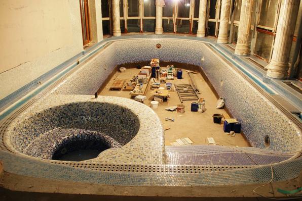 custom pool mosaics
