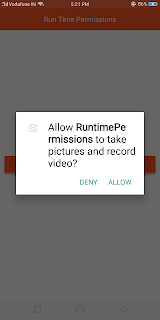 react native android runtime permission