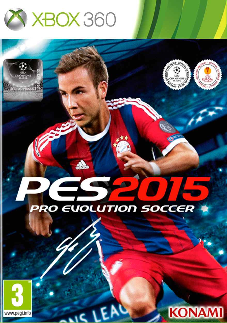 Pro Evolution Soccer 2015 XBOX 360 Cover Caratula