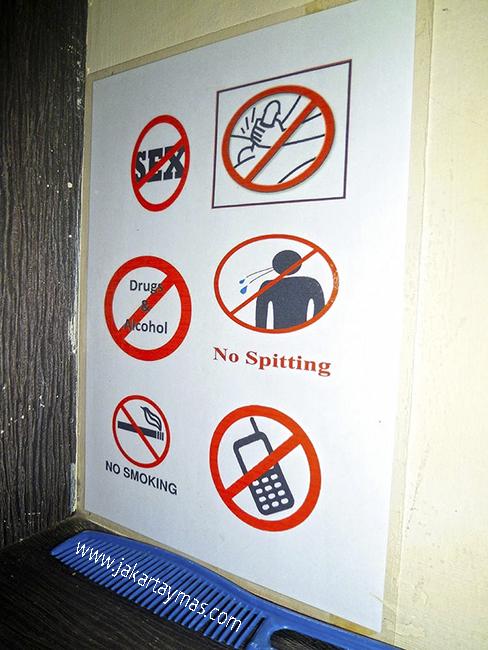 Prohibido masturbarse en masaje de Bali