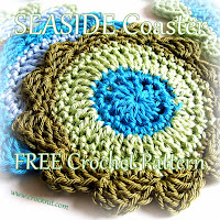 how to crochet, free crochet patterns, coasters,
