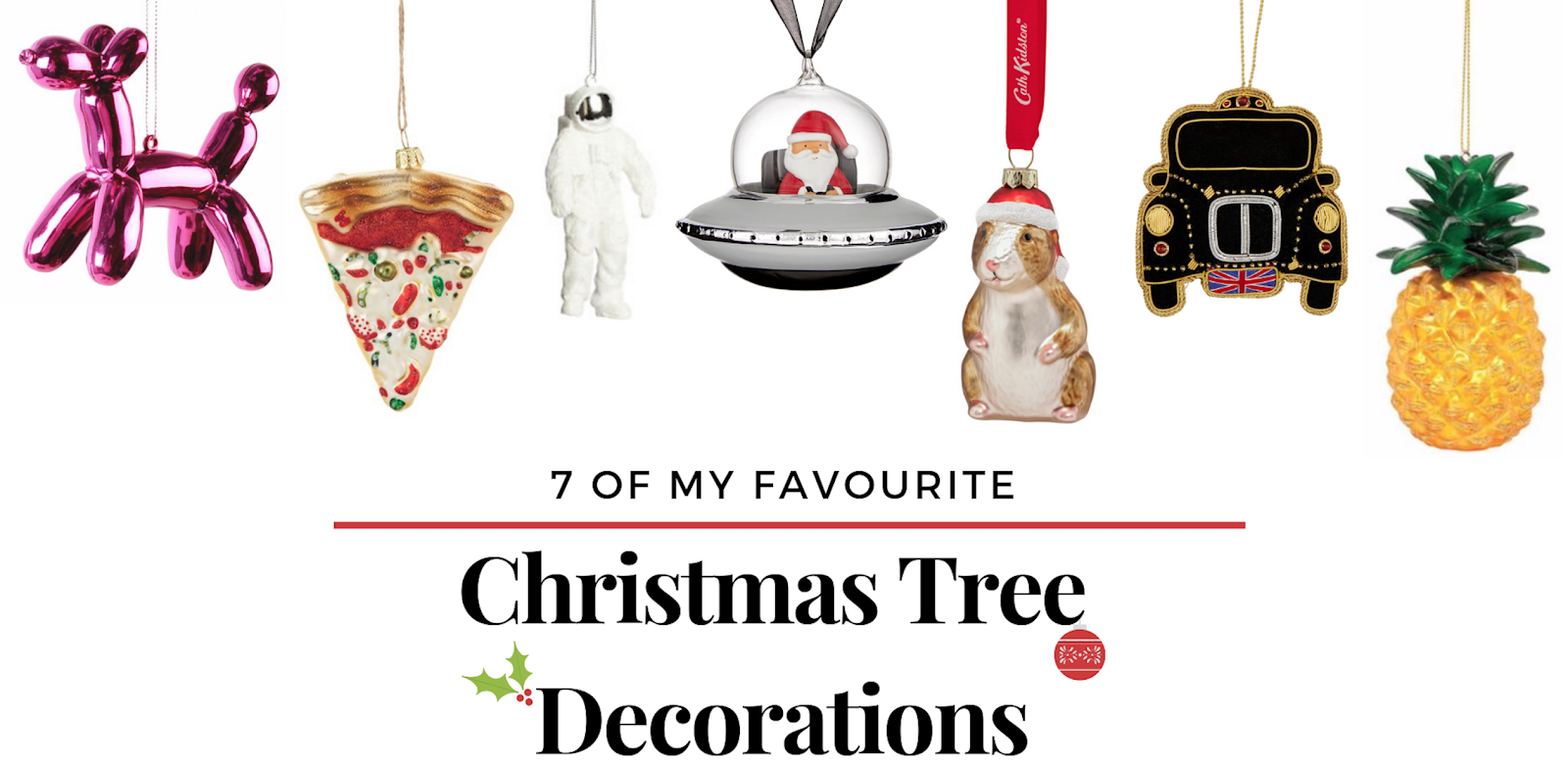 Funny Christmas Tree Decorations