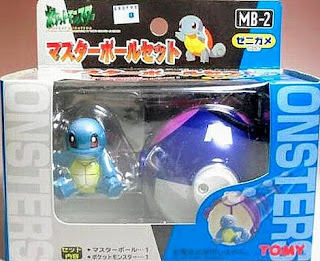 Squirtle figure Tomy Master Ball Set MB-1