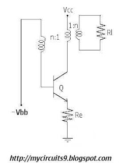 monostable blocking oscillator circuit diagram