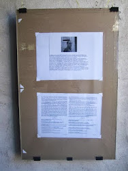 "Marco Giovenale (Rome, Italy) ""glyphs (and) encyclopaedia"" (16.00 - October 6, 2012)"