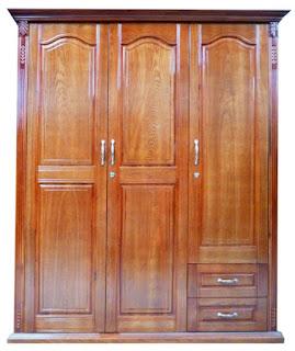 Hình ảnh tủ quần áo gỗ xoan đào