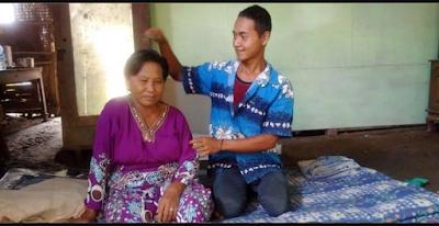 Video Pernikahannya Viral Di Medsos, Ini Kisah Pemuda Brondong 24 Tahun yang Nikahi Nenek 67 Tahun di Madiun