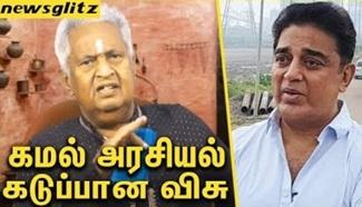Actor Visu not interested to comment on Kamal Politics