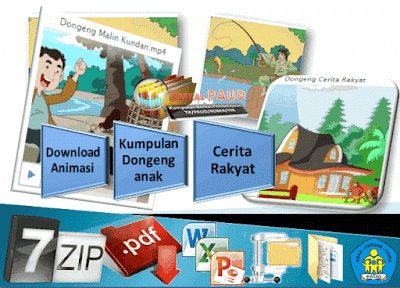 Download Animasi Kumpulan Dongeng anak Cerita Rakyat