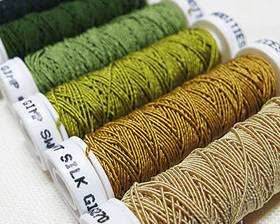 Gimp embroidery threads trim