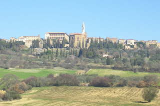 The hill town of Pienza is a UNESCO World Heritage Site