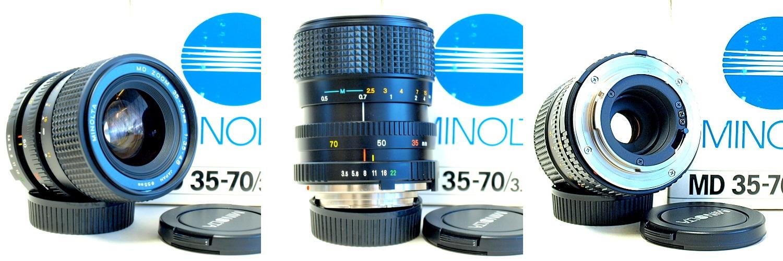 Minolta MD 35-70mm 1:3.5~4.8 Macro Zoom #936