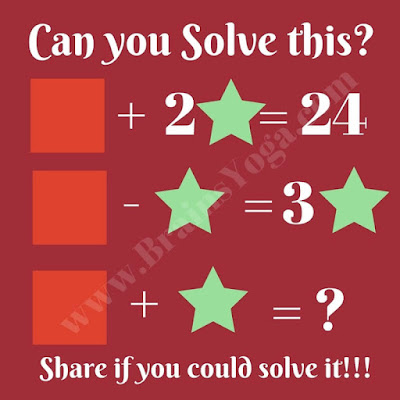 Maths Picture Brain Teaser