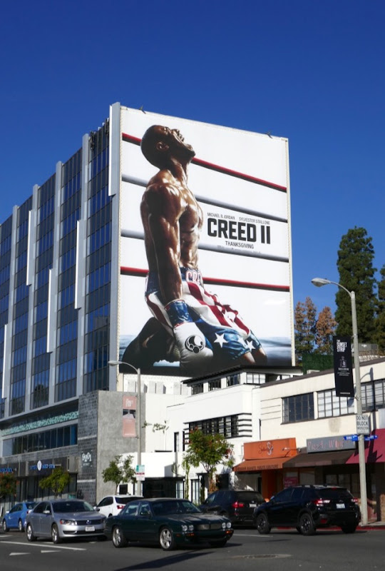Giant Creed 2 film billboard