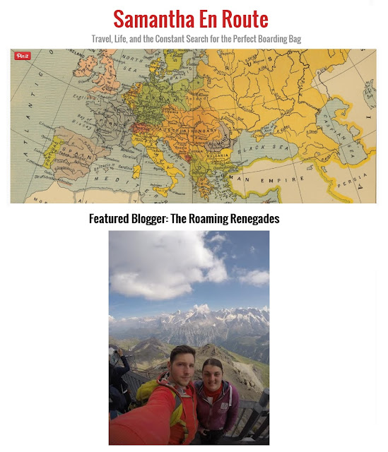 http://www.samanthaenroute.com/featured-blogger-the-roaming-renegades/