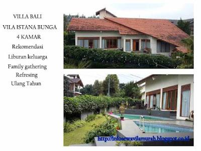Villa Bali Istana Bunga Dengan Fasilitas Kolam Renang