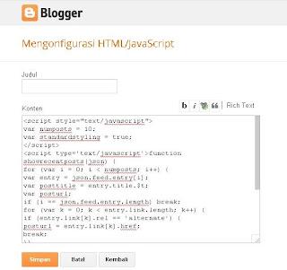 Add Gadget HTML/Javascript