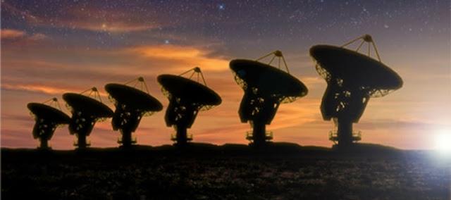 Eis uma transmissão de rádio alienígena
