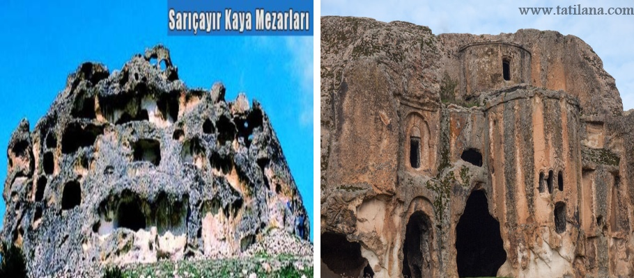 Sarıçayır Kaya Mezarları ve İhsaniye Ayazini