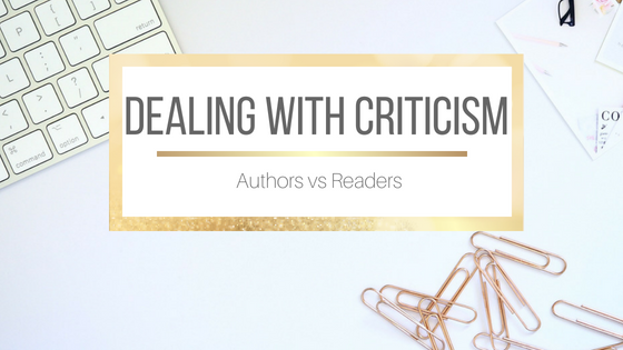 Dealing with Criticism: Authors vs Readers