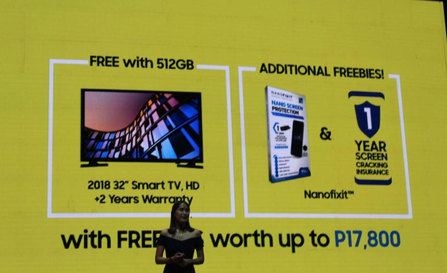 Samsung Galaxy Note9 freebies