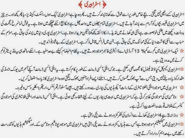 Benefits Of Strawberry In Urdu 1