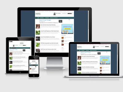 Template Blog Responsive Ringan Kelas Premium Gratis Untuk Blogger | SEOBlog.id