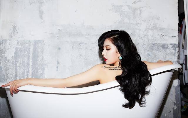 Foto Seksi HyunA