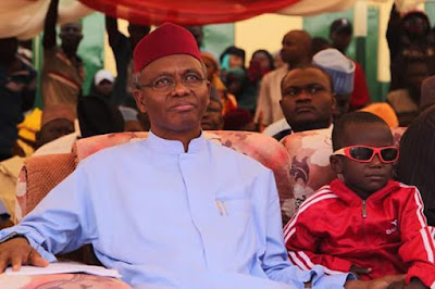 Governor El-Rufai in tears upon meeting little Sadiq whose eyes were gouged out
