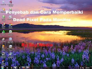 Penyebab Dead Pixel Pada Monitor dan Cara Memperbaikinya.