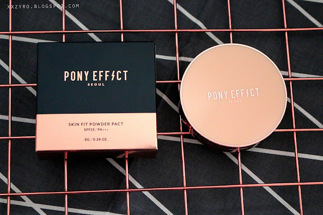 Pony Effect Skin Fit Powder Pact SPF25/PA+++, powder, pony, pony effect, pony makeup