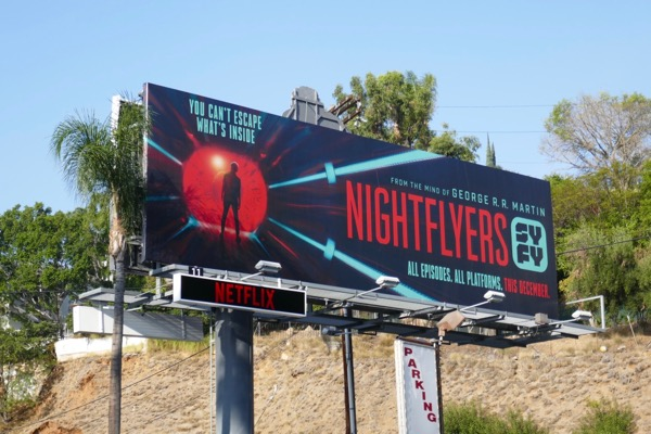 Nightflyers series launch billboard