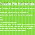 Puzzle Pie Giveaway!!