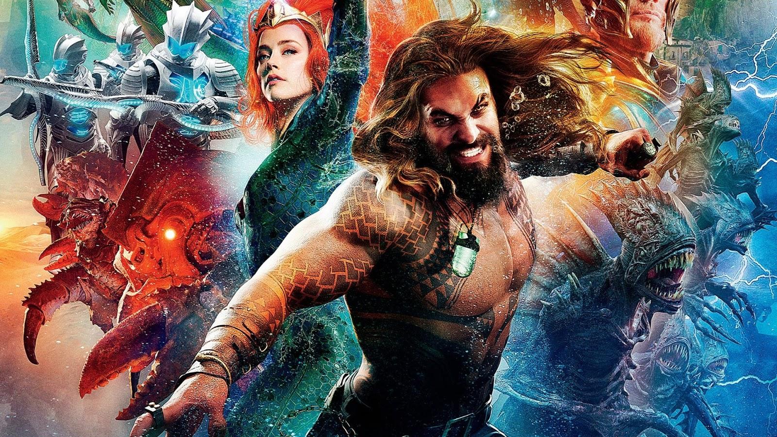 Aquaman 2018 Hindi Dual Audio 720p HD | Apnifilme