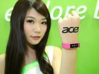 Acer Liquid Leap, Gelang Pintar Berlayar Sentuh Terkecil Di Dunia