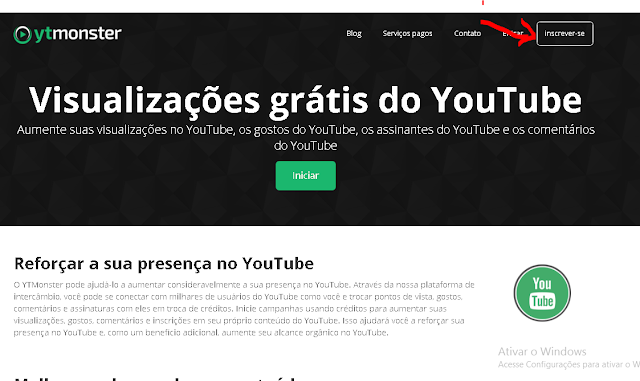 Como Aumentar  Visualizações no Youtube YT Mosnter
