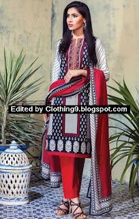 Alkaram Studio Mid-Summer Cambric Dress