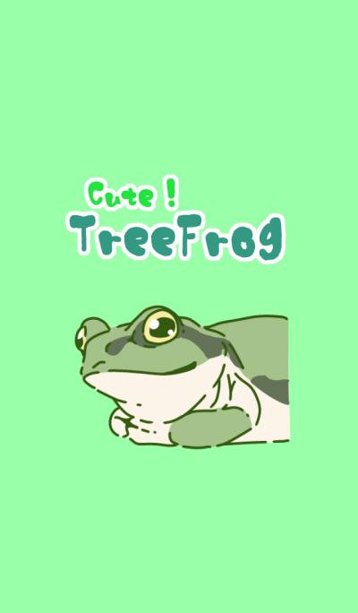 CuteTreeFrog