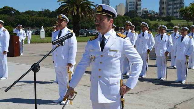 Asume Nuevo Comandante de Fuerza de Submarinos Argentina.