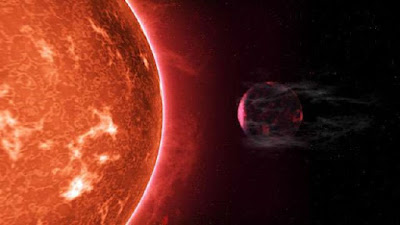 Hot super-Earths stripped by host stars