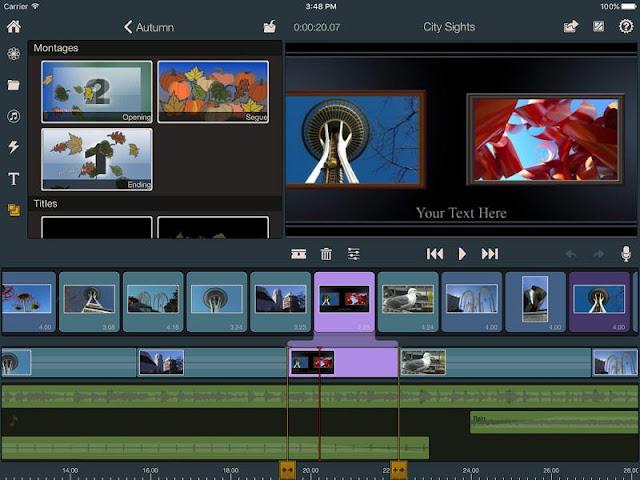 aplikasi editor video iphone Pinnacle Studio Pro
