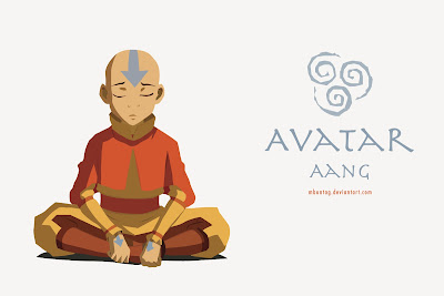 Introspective Aang.