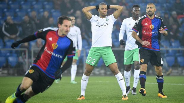 Les Verts sont éliminés de l'Europa League par les Suisses du FC Bale