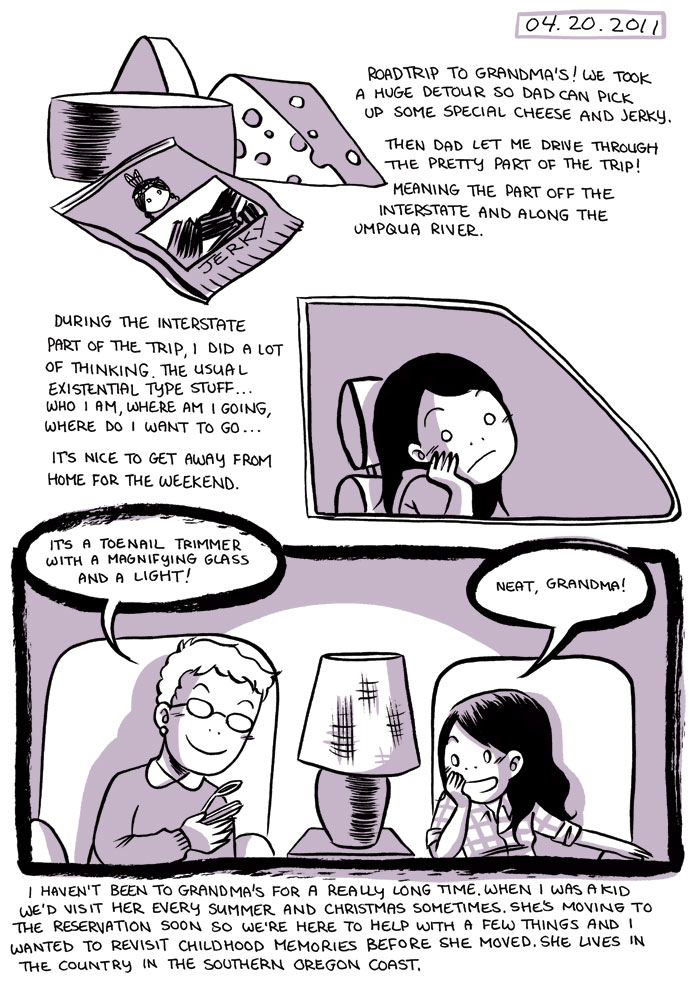 Emi Lenox Emitown comic
