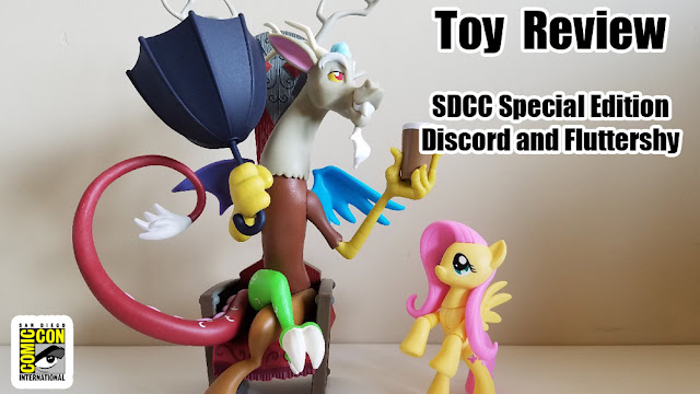Toy Review: SDCC Special Edition Guardians of Harmony Fluttershy and Discord