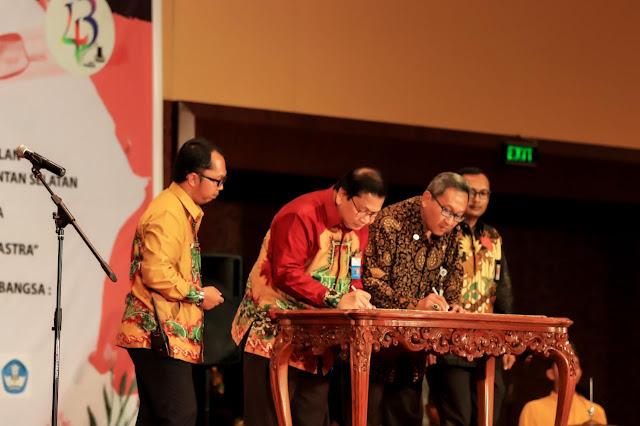 Ketua Dekranasda Provinsi Bengkulu Promosi Besurek di Expo Nusantara TMII