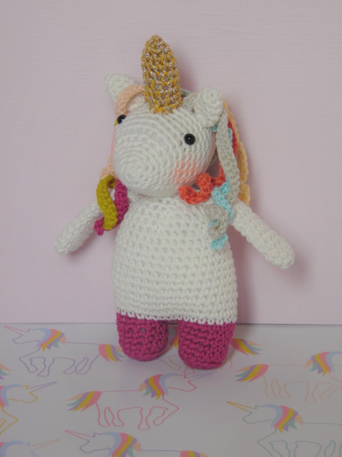 Coton Et Gourmandises Tuto Licorne Au Crochet Pénélope La