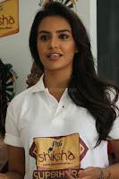Actress Priya Anand in T Shirt with Students of Shiksha Movement Events 44.jpg